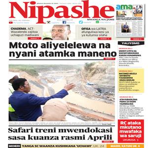 NIPASHE 19 NOVEMBA 2020