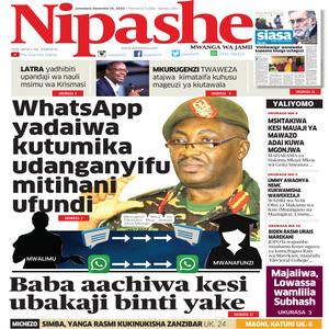 NIPASHE 16 DESEMBA 2020