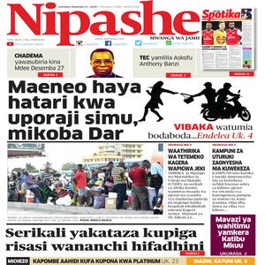 NIPASHE 21 DESEMBA 2020