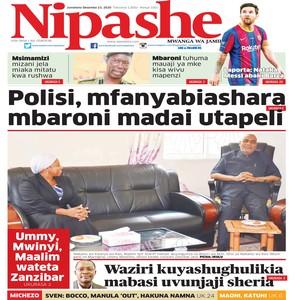 NIPASHE 23 DESEMBA 2020