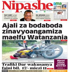 NIPASHE 24 DESEMBA 2020