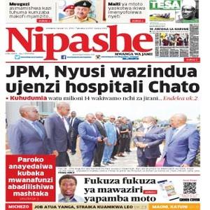 JPM  Nyusi wazindua ujenzi hospitali Chato