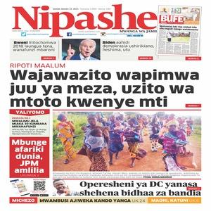 Wajawazito wapimwa juu ya meza  uzito wa motto kwenye mti