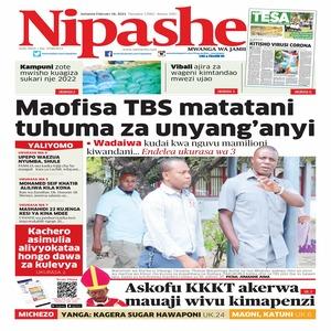 Maofisa TBS matatani tuhuma za unyang anyi