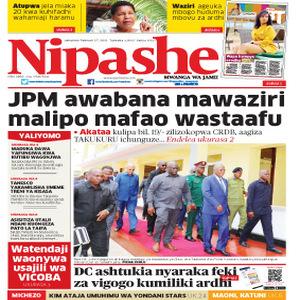 JPM awabana mawaziri malipo mafao wastaafu