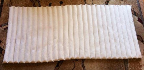 Buckwheat husk mattress