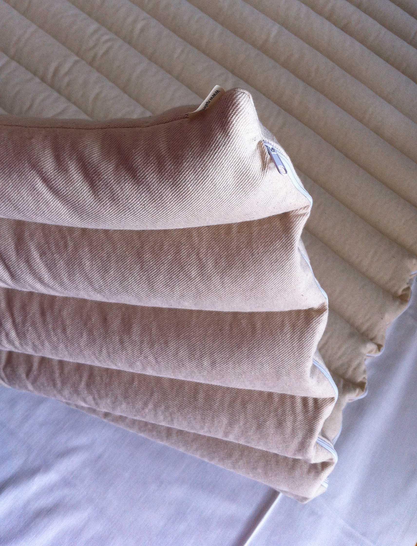 organic buckwheat hull mattress