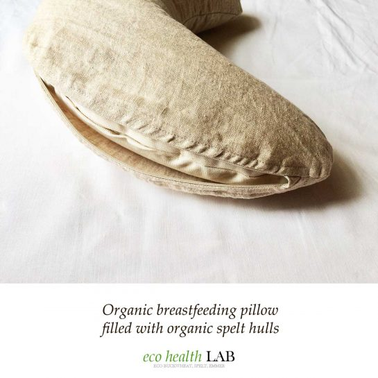organic breastfeeding pillow