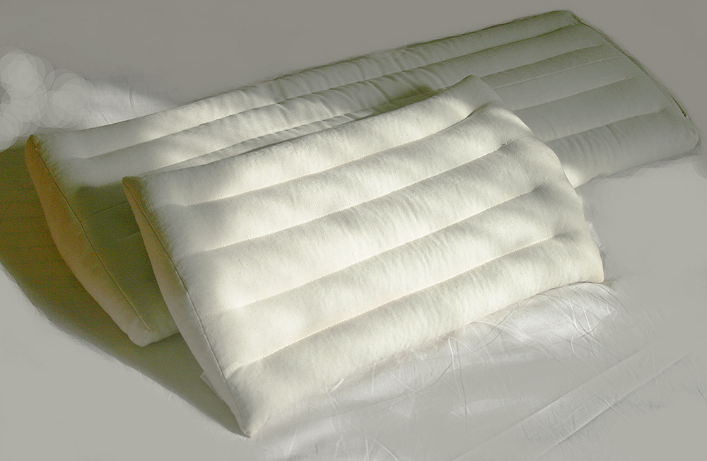 organic lumbar pillows by EcoHealthLAB