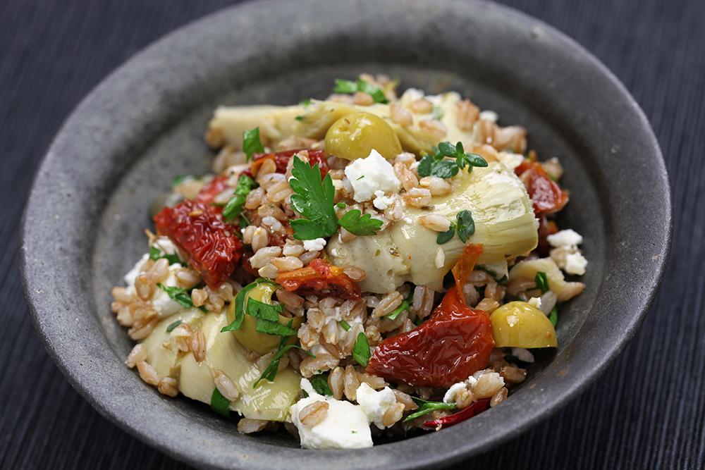 Spelt Salad in Italian cuisine