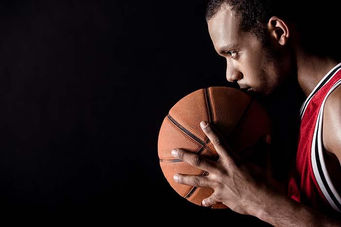 focused sportsman