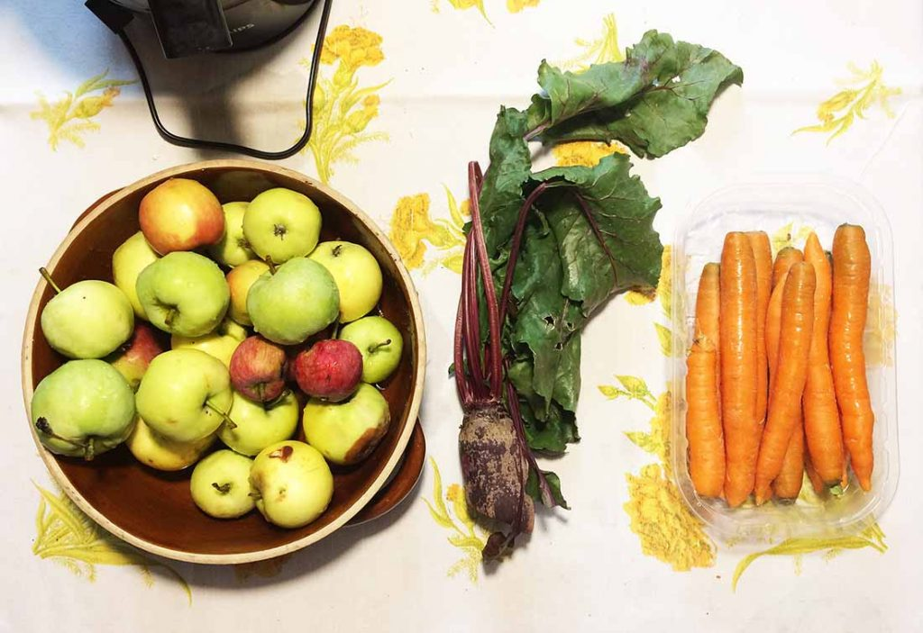 beetrrot apple juice