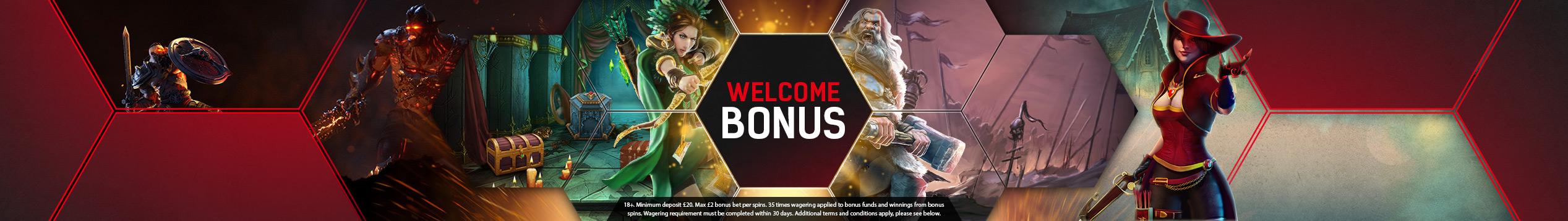 £100 deposit bonus!