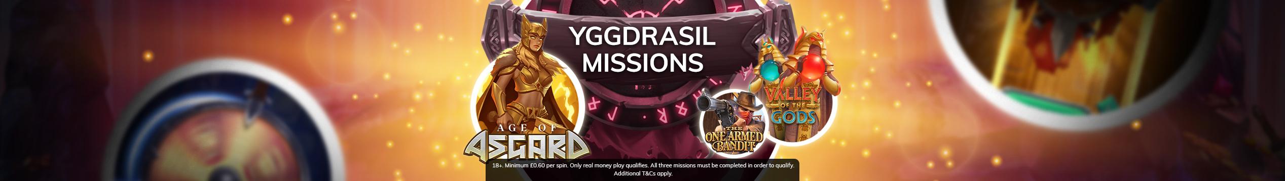 Yggdrasil Missions!