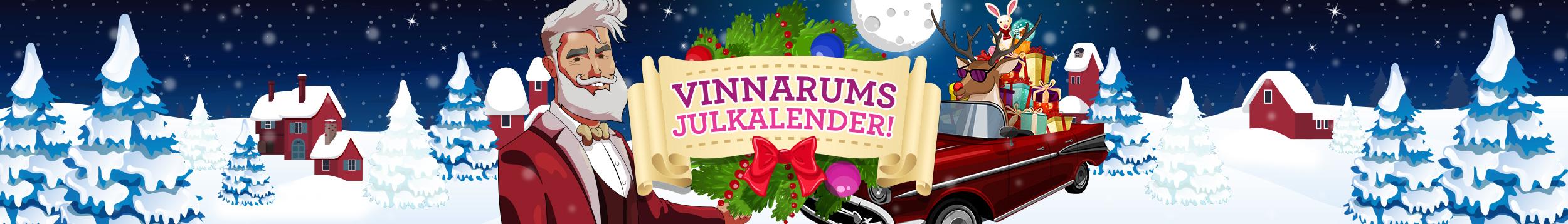 God jul önskar Vinnarum