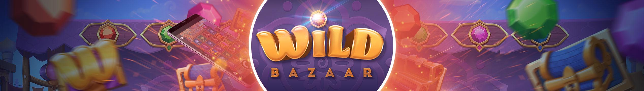 Prøv ut NetEnts spill Wild Bazaar idag