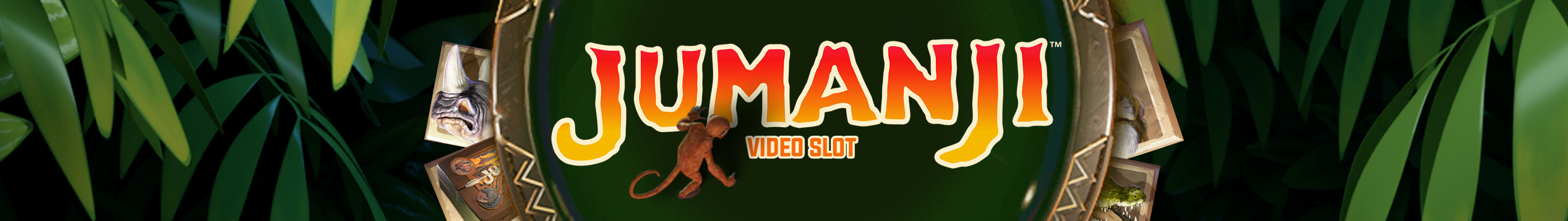 Try out the slot Jumanji