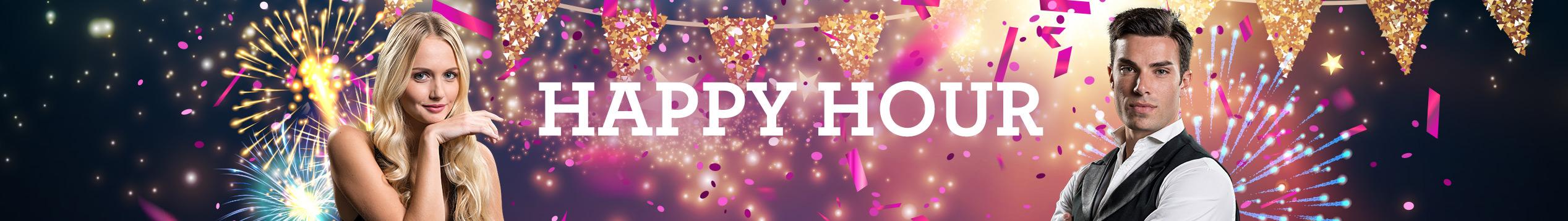 Happy hour i Live Casinoet!