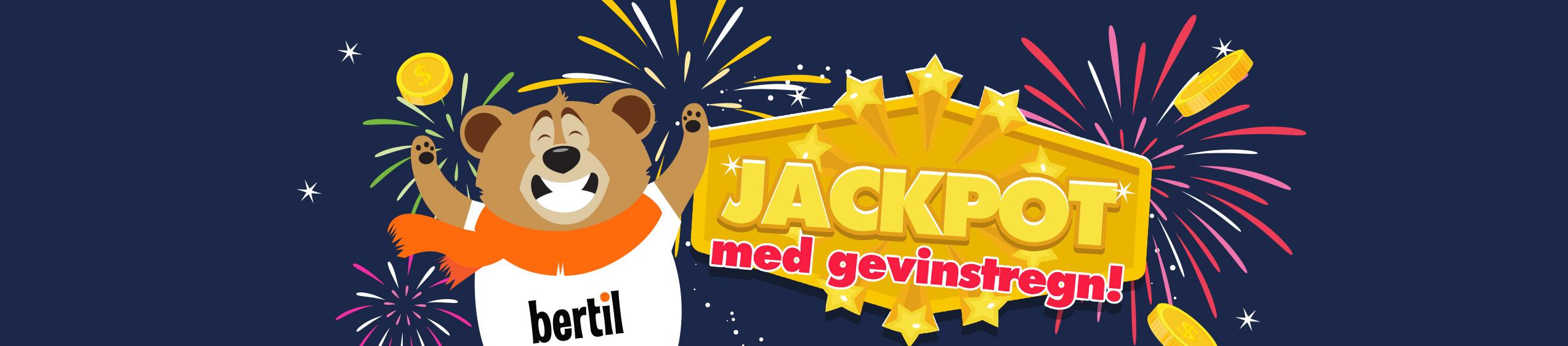 Vinn 1000 EUR jackpot i Regn hver fredag og søndag!