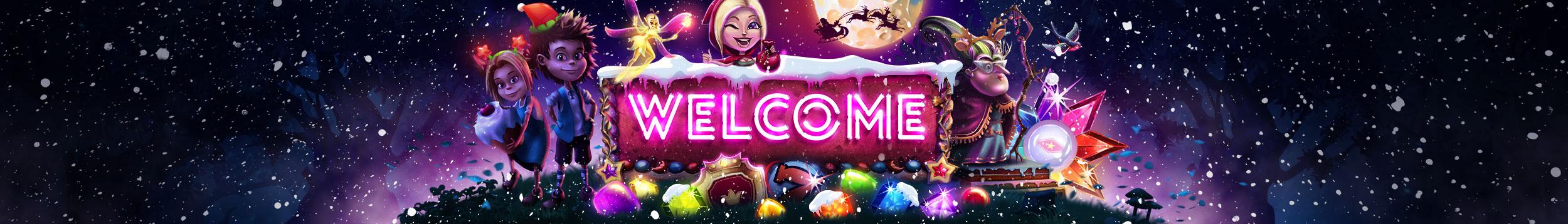 Grab your welcome bonus