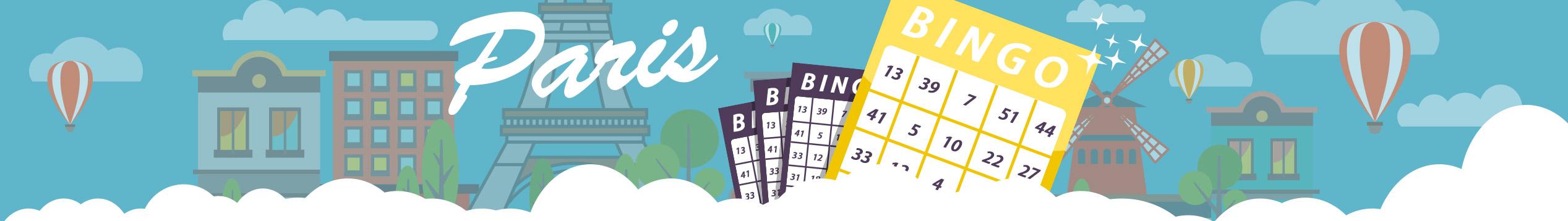 Samla gratisbrickor i bingohallen Paris denna vecka!