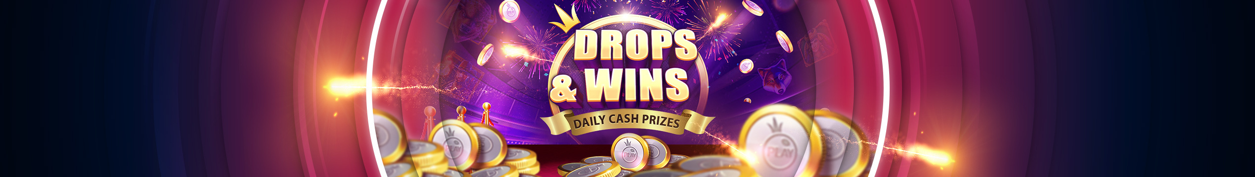 £2,000,000 DAILY DROPS & WINS