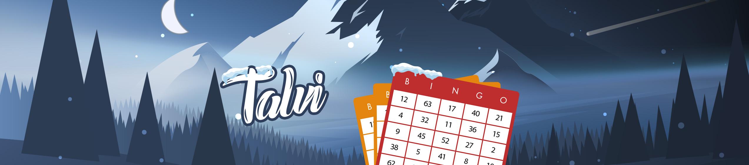 Pelaa talvi bingoa Bertilillä!
