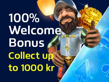 Welcome Bonus: Slots