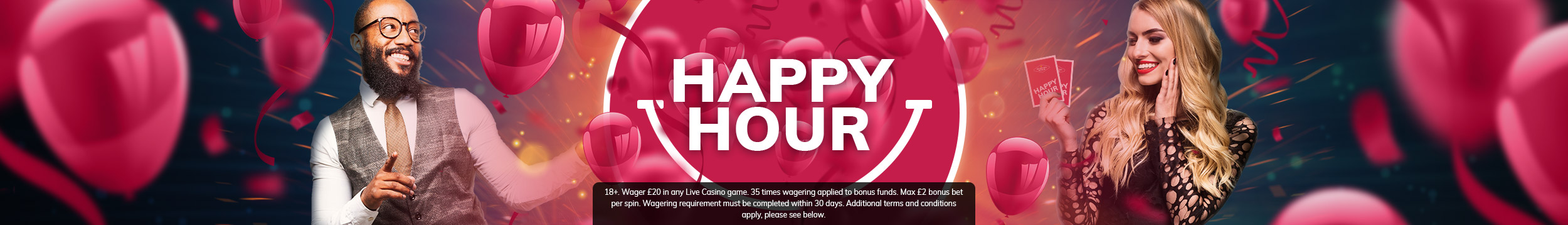 Live Casino Happy Hour