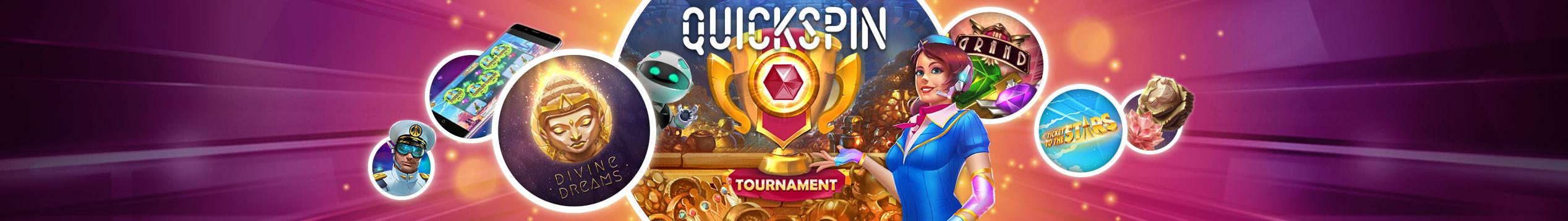 Quickspin cash turnering