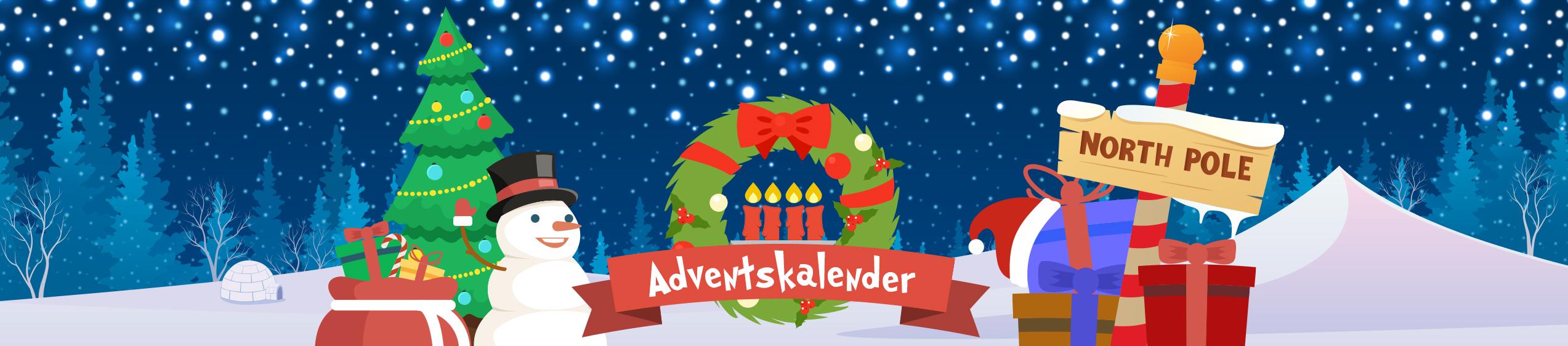 Se vad Bertils julkalender bjuder på!