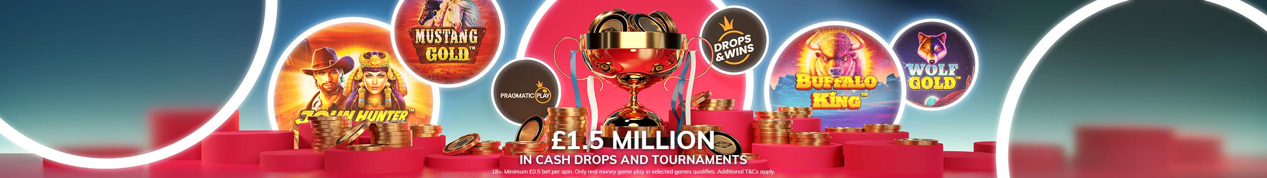 £1,500,000 Prize Pool