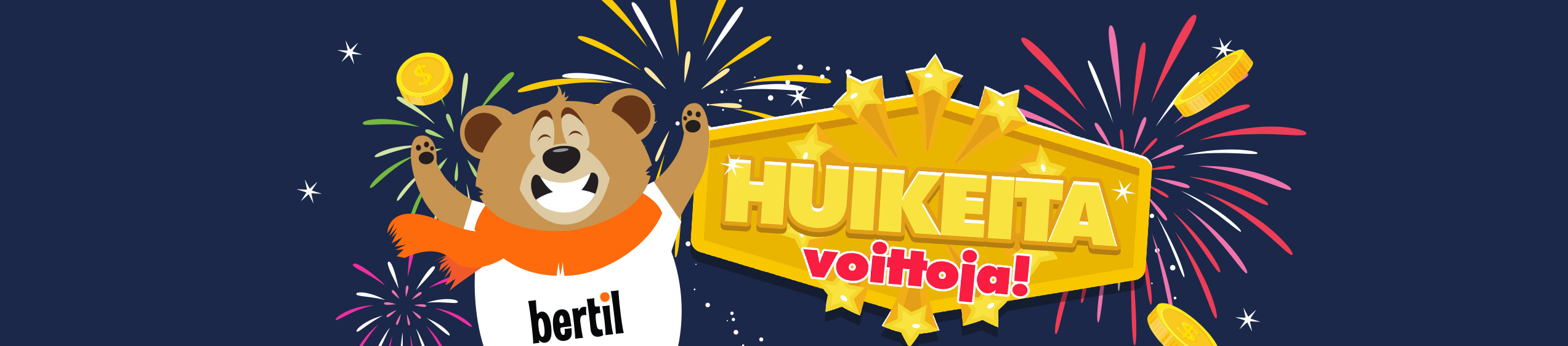 Voita 1000€ jackpotti Sade-bingossa perjantai ja sunnuntaina!