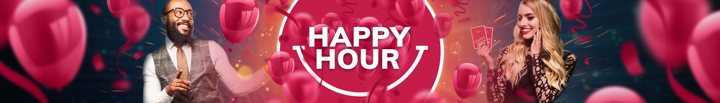 Livekasinon Happy Hour!