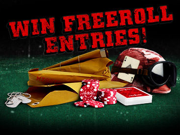 Complete Missions, Win Freeroll Entries