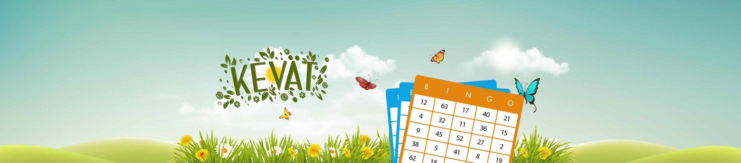 Pelaa kevät bingoa Bertilillä!