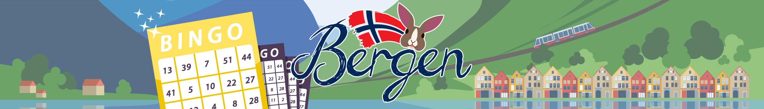 Pelaa uudessa Bergen -pelihuoneessa
