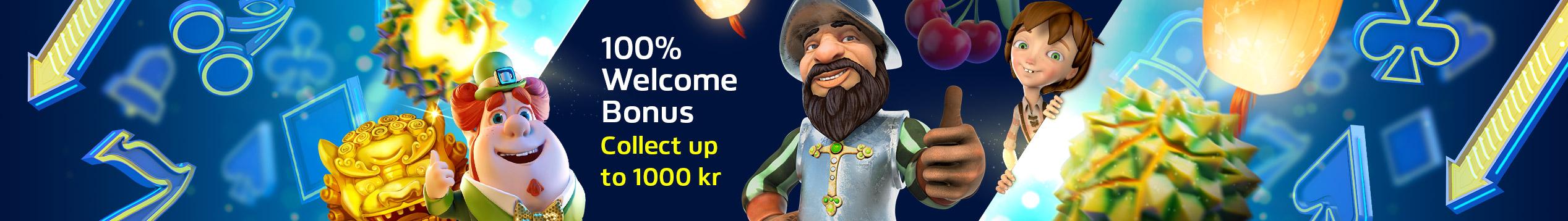 Welcome bonus on Slots