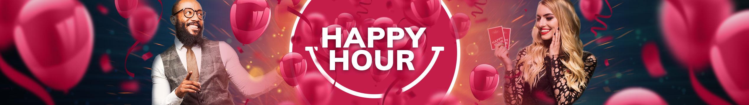 Livekasinon Happy Hour!