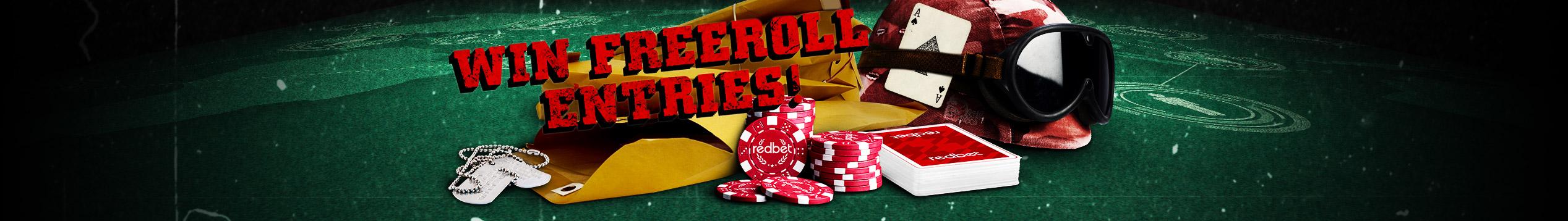 redbet Poker Mission Freerolls worth €50k!