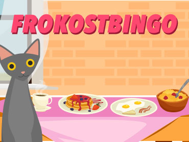 Koselig frokostbingo med Therese