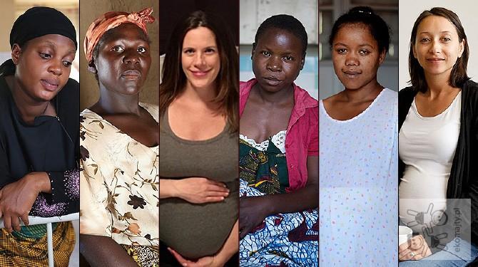 Matki całego świata – torby porodowe