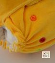 Formowanka bambusowa dojrzała cytryna (One Size)