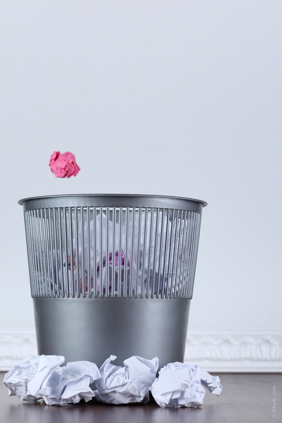 6 أخطاء تجعل سلة المهملات مصير سيرتك الذاتية