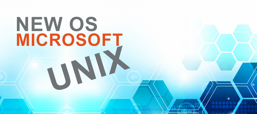 New OS Microsoft Unix