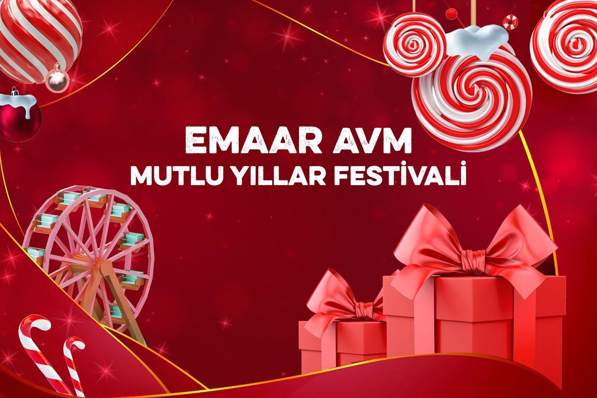 Emaar Mutlu Yıllar Festivali Başladı!