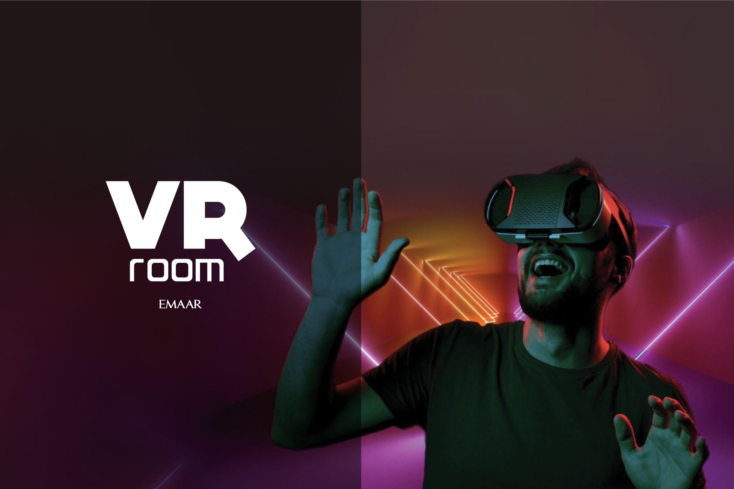 Sanal gerçeklik heyecanı VR ROOM ile artık Emaar AVM'de