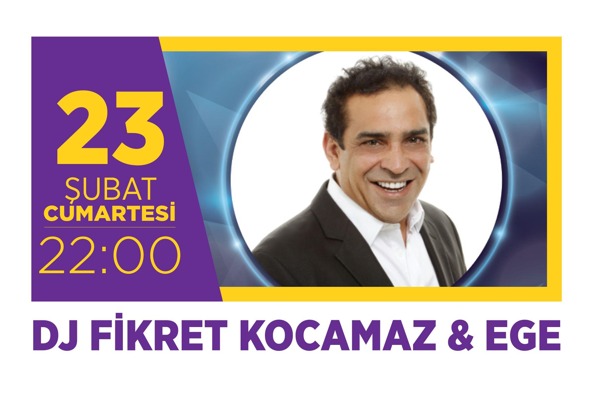 DJ Fikret Kocamaz & Ege Emaar Hayal Kahvesi'nde!
