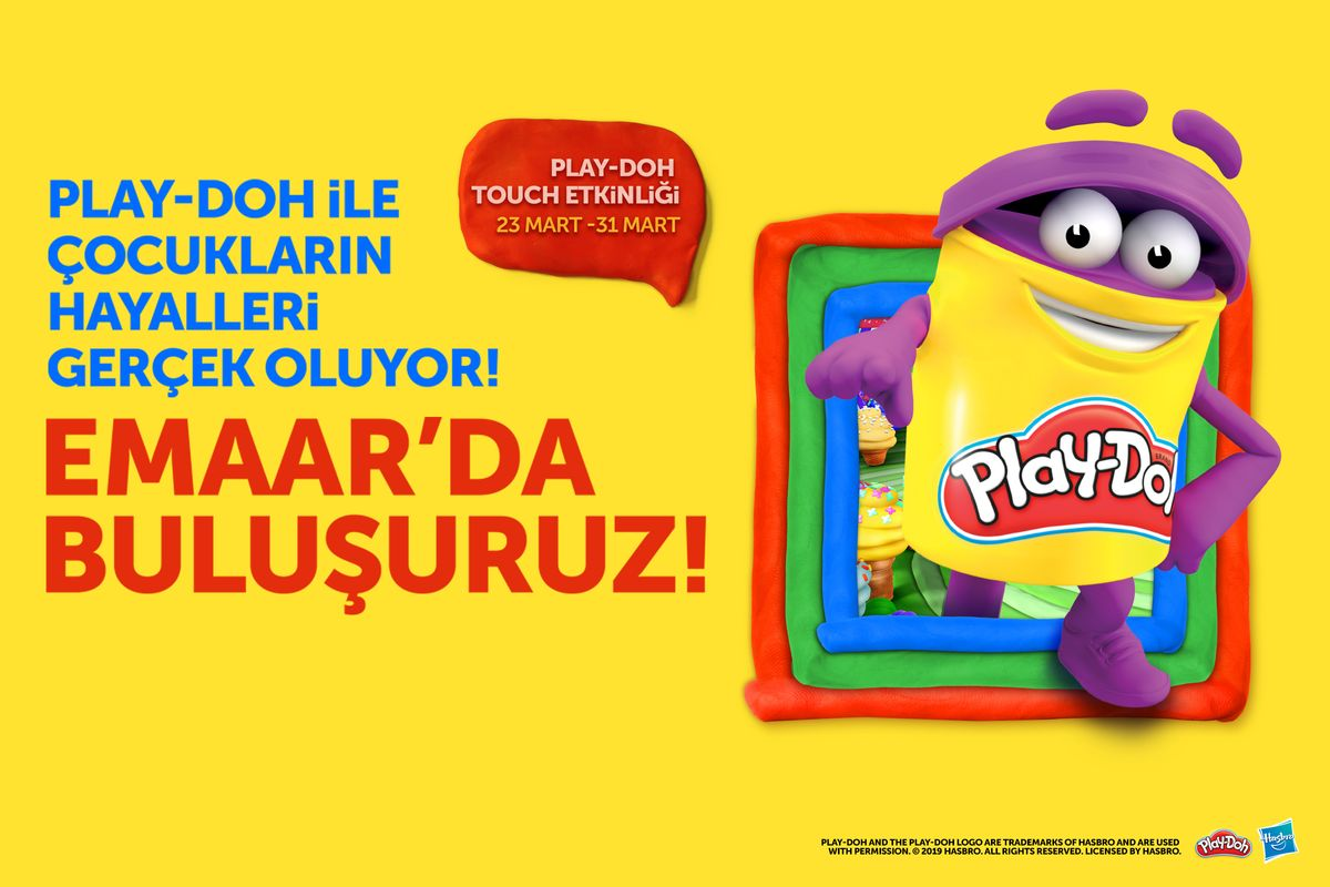 Play-Doh Touch Etkinliği