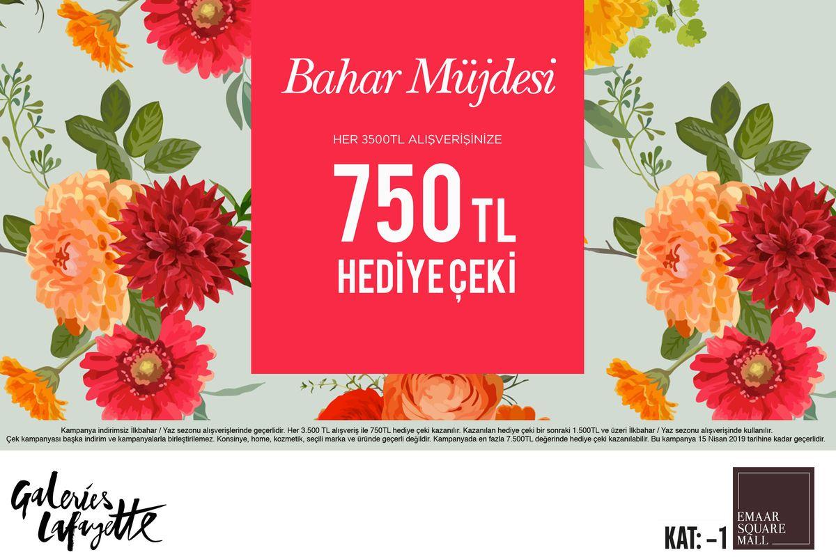 750 TL Hediye Çeki!